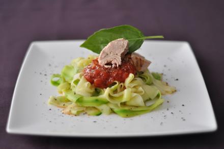 El gourmet saludable: espaguetis de calabacín