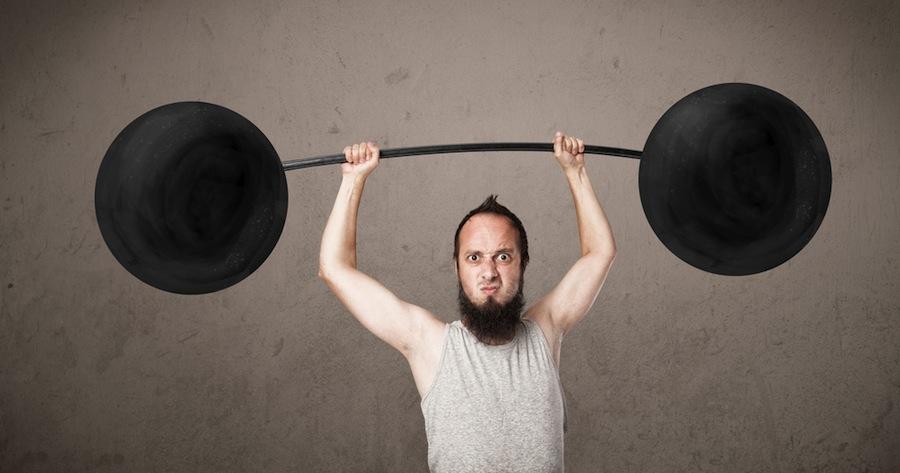 Por qué no ganas músculo