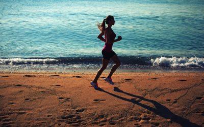 Mantener la forma en la playa en 15 minutos