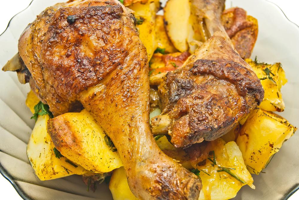 Cómete la piel del pollo, no comas la piel de las patatas