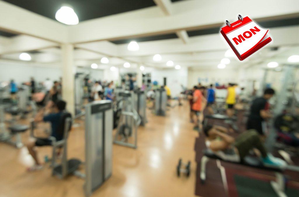 Por qué tu gimnasio está lleno los lunes y vacío los viernes