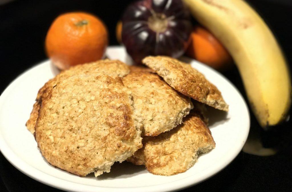 El gourmet saludable: desayuna café y galletas (de plátano proteínas)
