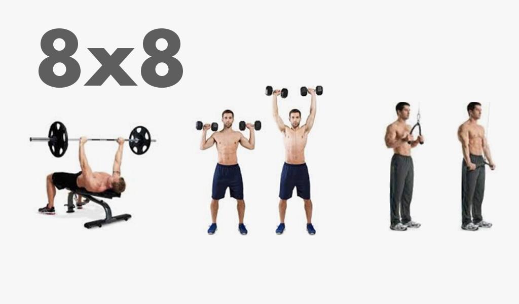 ¿Sabes multiplicar? Prueba con el 8×8 para cambiar tu cuerpo ya