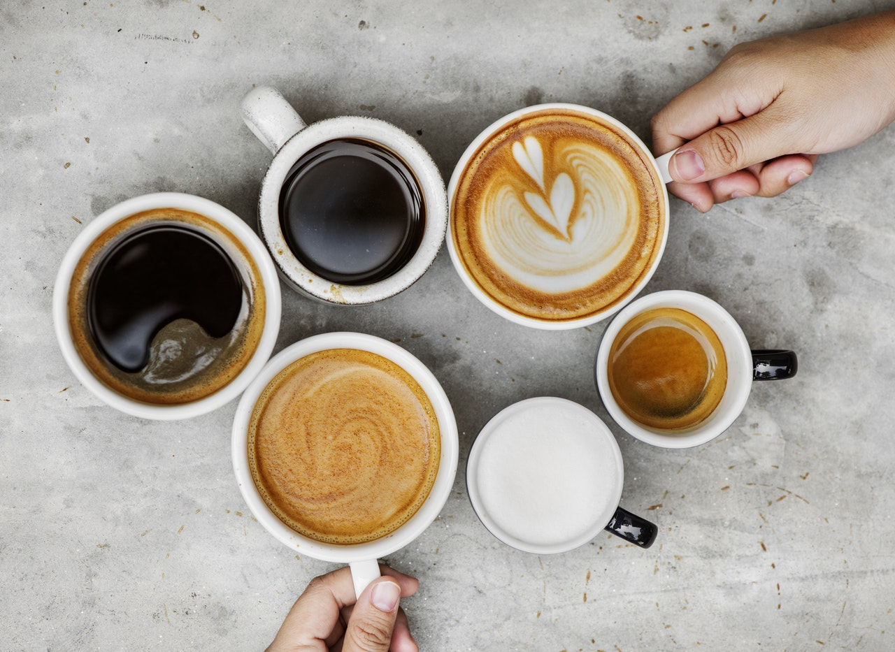 café grasa corporal