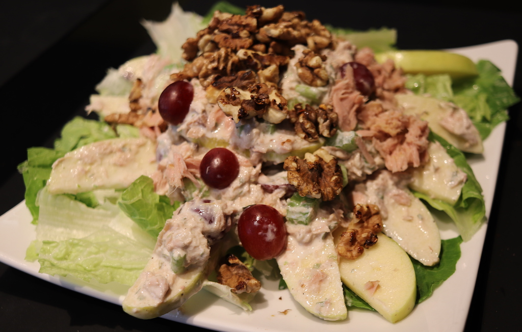 El gourmet saludable: ensalada Waldorf con atún